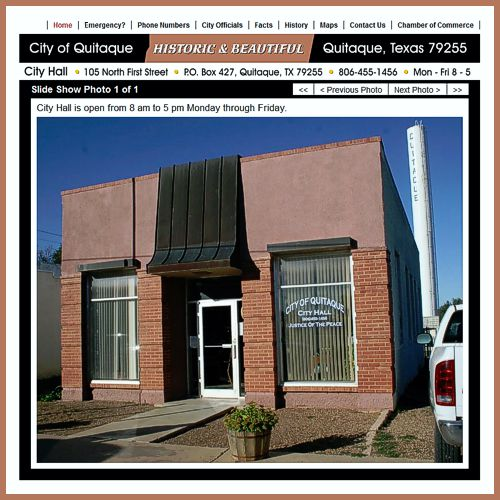 City of Quitaque website