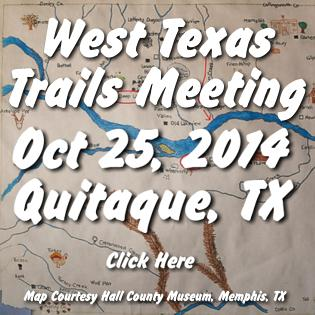 West Texas Trails Meeting