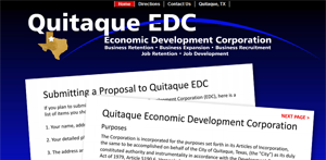 Quitaque EDC Website - Economic Development Corporation