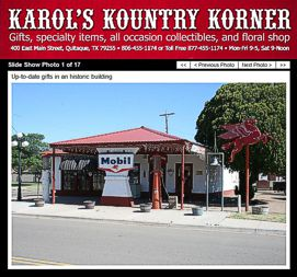 Karol's Kountry Korner Website