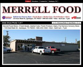 Merrell Foods Website