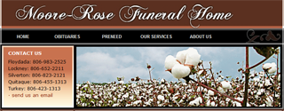 Moore-Rose Funeral Home Website