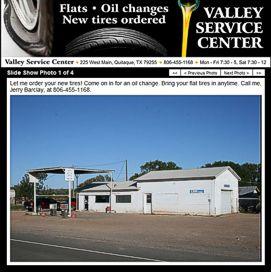 Valley Service Center Website