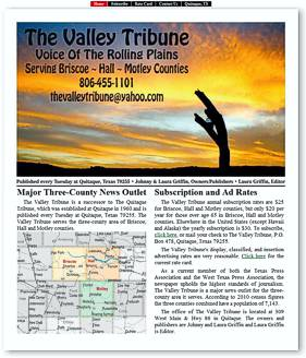 The Valley Tribune Website